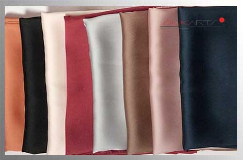 Seidenschal Satin in 85 Farben